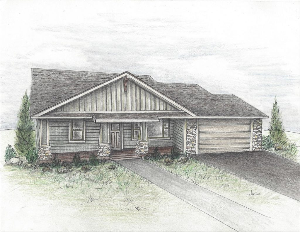 Sketch of 3509 Woodbridge Place